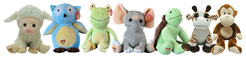 Peek  Boo Baby - Stuffed Animals